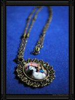 Circus Vintage Necklace by 13thpsyche