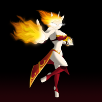 Fire Twilight as Lina by Xyotic