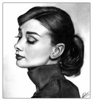 Audrey Hepburn 2 by bulletinthegun