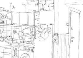 kitchen by Asiulus