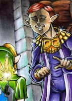 ACEO #090 'Don't tell me...' by NintendosZelda