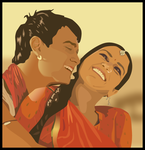 Bollywood Love Vector by Alec3