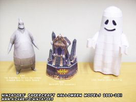Halloween papercrafts by ninjatoespapercraft
