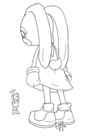 [Incomplete][Sonic The Hedgehog] Cream Puff by Display-This-Anyway