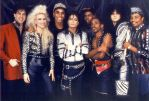 Michael Jackson and his crew by Prince-of-Pop