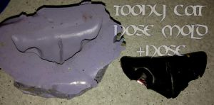 Toony Cat Nose Mold FOR SALE by AtmosFur