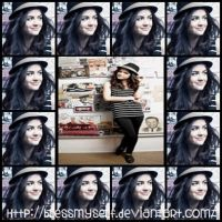 Collage Gif Lucy Hale by BlessMySelf