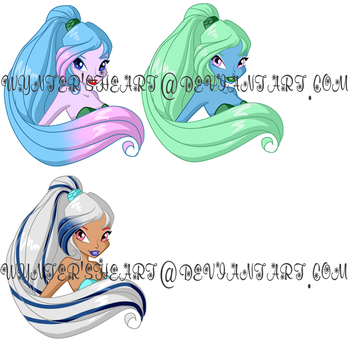 Palette Adopts Set 1 2/3 by WyntersHeart