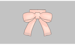 MMD Bow Scarf by amiamy111