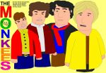 Monkees Vectorbrush February 2013 JPEG by EspioArtwork