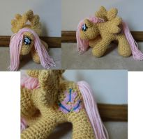 Mini fluttershy pony by Melyntenshi
