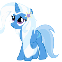 The great and powerful Trixie Hairstyle Equestria by ThisBrokenBrain