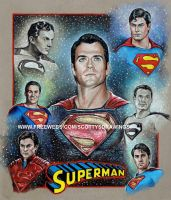 Superman- Men Of Steel 2014 by scotty309