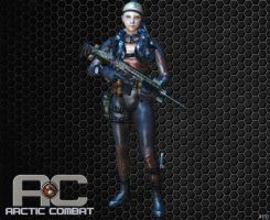 R.S.A. GIRL [ARCTIC COMBAT] by Goreface13