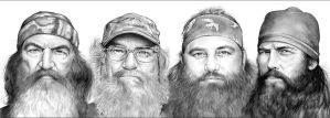 Duck Dynasty by gregchapin