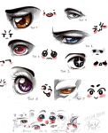 Eyes eyes eyes eyes by Moonzetter