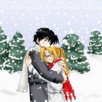 FMA: Warmth in Winter RED by TheMadWoman-Ellie