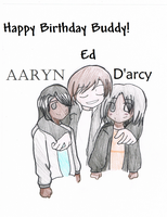Happy Birthday BUDDY by Soda-Lupus