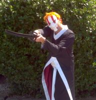 Ichigo Bankai cosplay by Dark-Capricorn