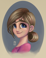 Toon girl by EdBourg