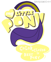 (P.Commission)MLP:FIM Logo Color Clouds Version by AndreaSemiramis