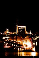 Berlin at Night by sheiberart