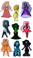 Sapphy Adopts (2/9 OPEN) (OTA NOW ACCEPTED!) by Gnome-Queen