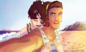 Honeymoon selfie by Nikadonna