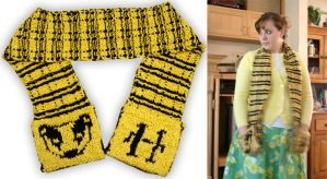 Hufflepuff Scarf by papilia