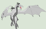 Traced Base - Skyrim Dragon 2 by Mature-Bases
