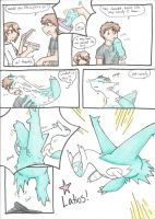 Shiny Latios transformation by RaiinbowRaven