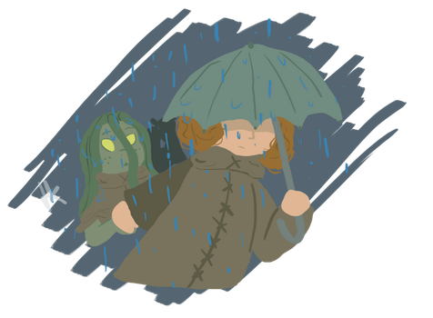 Jounery Throught The Rain by TwirlyInk01