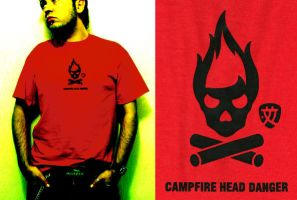CAMPFIRE HEAD DANGER by X'TRD by neyrobot