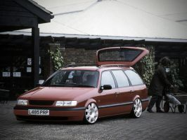 Slammed VW Passat by Clipse89
