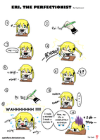 Eri the PERFECTIONIST by EriChan04