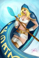 Crystal Maiden: Rylai of DOtA by andrislolita