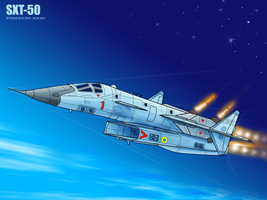 SXT-50 in flight by TheXHS