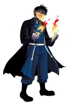 Roy Mustang by damnskippy