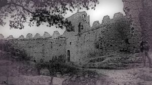 Castles 2. Languedoc. France by jennystokes