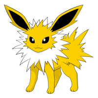 Eeveelution Jolteon by Alpha-mon