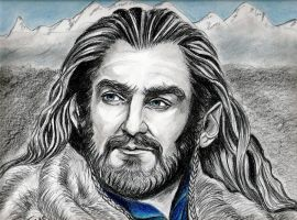 Richard Armitage Thorin, King Under the Mountain b by jos2507