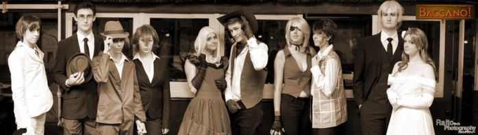 Baccano Shoot-Out! - Group Photo by raitophotography