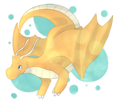 Dragonite by Elycian