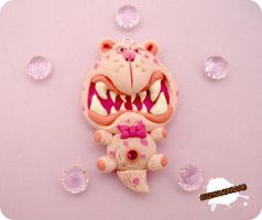 FIMO - Bandersnatch PINK by buzhandmade