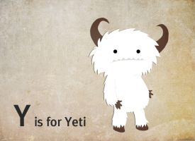 Y is for Yeti by whosname