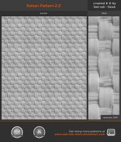 Rattan Pattern 2.0 by Sed-rah-Stock