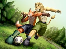 Soccer Heat Wave by TigerHawkmon