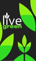 live green logo by ahmed7