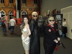 Exella, Wesker and Mee by Whogal1