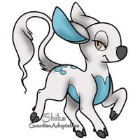 WhiteWinterWolf : Shimmer by GuardianAdoptables